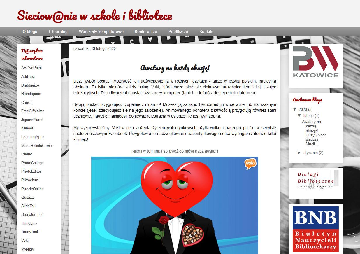 blog sieciowanie